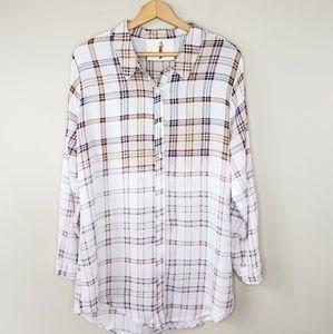 Boho Jane | Plaid Button Down Shirt